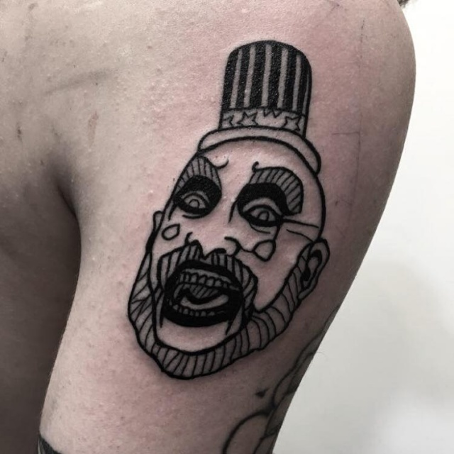 Captain Spaulding from Rob Zombie Movies