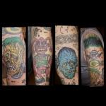 Zombie art sleeve
